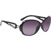 HH ( Jasica007Blk) Black Oval Sunglasses