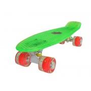 Sportmann Penny board Mad Cruiser Full LED ABEC 7-verde