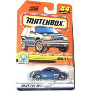 "Matchbox #44 Of 100 Show Cars Series Audi Tt Coupe ""2000"" Tempo Chase Die Cast Collectible"