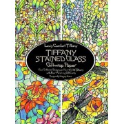 Tiffany Stained Glass Giftwrap Paper, Paperback