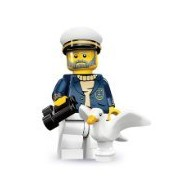 Lego 71001 Series 10 Minifigure Sea Captain