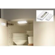 LED svítilny 2xpack do skříňky + magnetický senzor + Li-on baterie