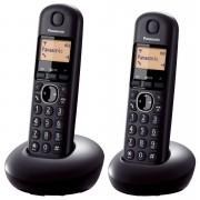 Telefon Panasonic KX-TGB212FXB, crna, Bežični, 24mj, 2 slušalice