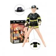 Kelly FireFox ženska seks lutka na naduvavanje u kostimu vatrogasca 3000007676