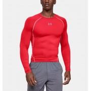 Under Armour Herenshirt UA HeatGear® Armour Compressie met lange mouwen - Mens - Red - Grootte: 3X-Large