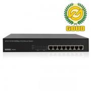Eminent EM4436 8-Poorts Gigabit Switch, 8 PoE poorten