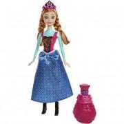 Mattel Lalki Disney Kraina Lodu Frozen – Kolorowa Przemiana Anna BDK32