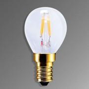 E14 2.2 W 922 LED lamp in carbon filament design