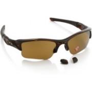 Oakley Round Sunglass(Brown)