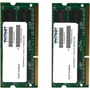 Memorie Laptop Patriot PSA316G1333SK DDR3, 2x8GB, 1333MHz, CL9, 1.5V