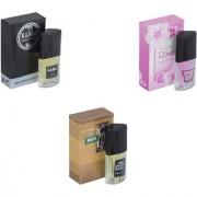 Skyedventures Set of 3 Kabra Black-Rose-The Boss Perfume
