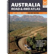 Wegenatlas - Atlas Australië - Australia Road and 4WD Atlas | Hema Maps