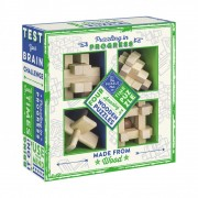 The Puzzle Club - Set of 4 Wooden Puzzles