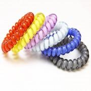 AliExpress 10 pcsHair Accessoires Voor Vrouwen Haarbanden Telefoon Wire Hair Ring Hoofdbanden Traceless Gom Gekleurde Elastische Haarbanden Voor Meisjes