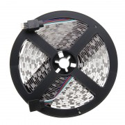 14W Bare Board White & Warm White Light LED 5052 SMD Rope Light with LED Controller & Remote 60 LED/m Length: 5m