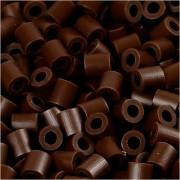 Nabbi Photo Pearls, stl. 5x5 mm, hålstl. 2,5 mm, 1100 st., mörkbrun (2)