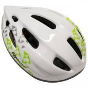 Каска за велосипед Flash - S, бяла, MASTER, MAS-B201-S-white