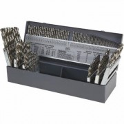 Klutch High Speed Drill Bit Set - 115-Piece