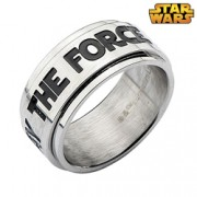 """Star Wars """"May the Force"""" Spinner Ring"""