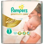 Scutece Pampers Premium Care 1 New Baby Small Pack (22)