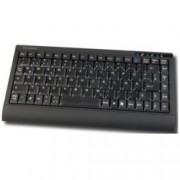 Клавиатура KeySonic ACK-595BT, Bluetooth, 10м обхват, Soft-Touch, Power бутон, черна