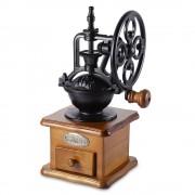 Vintage Handkoffiemolen Retro Stijl Houten Koffieboon Molen Slijpen Reuzenrad Ontwerp Hand Koffiezetapparaat Machine GBhome