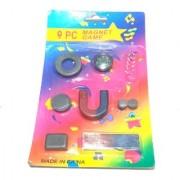 Nawani School Project 9 Pcs Assorted Magnet Game Set