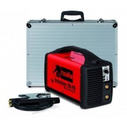 Aparat de sudura Telwin TECHNOLOGY 186HD Invertor 230V ACX+ALU C.CASE Rosu