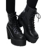 Damen Schuhe Wedge Boots - KILLSTAR - KSRA001495