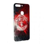 Husa de protectie Football Manchester United pentru OnePlus 5T Silicon W233