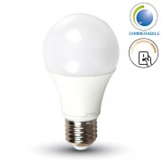 LAMPADINA LED E27 9W BIANCO CALDO DIMMERABILE A STEP VT-2011-LED4447