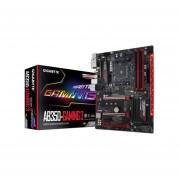 T. Madre Gigabyte GA-AB350-GAMING 3, ChipSet AMD B350, Soporta, AMD Ryzen/ Athlon / 7ma Gen A-Series De Socket AM4, Memoria, DDR4 3200(O.C.)/2400/2133 MHz, 64GB Max, Integrado, Audio HD, Red, USB 3.1 Y SATA 3.0, ATX, Ptos, 3xPCIEx16, 2xPCIEx1.