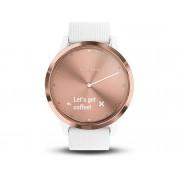 Garmin Reloj deportivo GARMIN Vívomode HR (Bluetooth - 5 dias de autonomía - Pantalla táctil - Blanco)