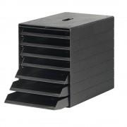 DURABLE Schubladenbox HxBxT 322 x 250 x 365 mm schwarz