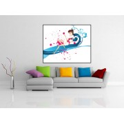 Tablou canvas abstract design - cod C46