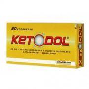 Alfasigma Spa Ketodol 25 Mg + 200 Mg Compresse 20 Compresse