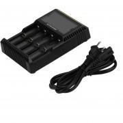ER D4 LCD Para Cargador De Baterías AA/26650/18650/14500/18350/1634 Enchufe De EE.UU.