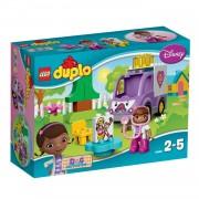 LEGO DUPLO Doc McStuffins en Rosie de ambulance 10605