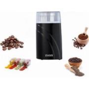 Rasnita de cafea si condimente Zass ZCG 03 200W 90g Negru