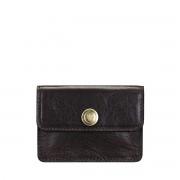 Maxwell-Scott Damen dunkelbrauner Leder Visitenkartenhalter- Portofino