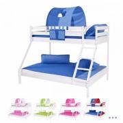 Dečiji krevet na sprat Maxim Beli Color Collection