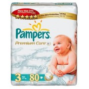 Pampers Premium Care 3 - 80 bucati