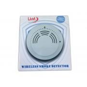 Sensore fumo wireless compatibile con Antifurto casa negozio LKM