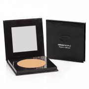 Green People Polvo compacto mineral FPS 15 - Caramel Medium