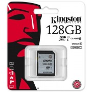 Unbranded Kingston 128gb sdxc class10 uhs-i 45mb/s read flash card