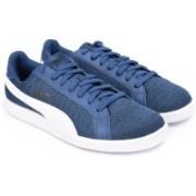 Puma Smash Knit Sneakers For Men(Blue)