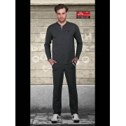 Doreanse Удобный мужской домашний костюм серого цвета Doreanse Homewear 4775c30