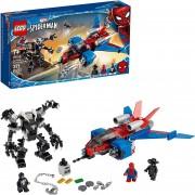 LEGO Marvel Spider-Man 76150 Jet Arácnido vs. Armadura Robótica de Venom