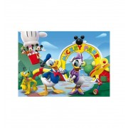 Puzzle 104 Club House Mickey Minnie - Clementoni