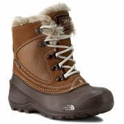 Cizme de zăpadă THE NORTH FACE - Youth Shellista Extreme T92T5VNGW Dachshund Brown/Moonlight Ivory